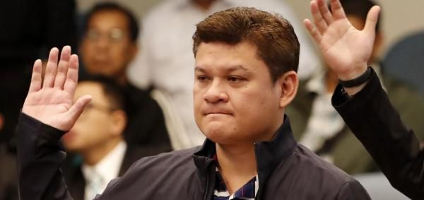 Philippine President Rodrigo Duterte addressed allegations his son was a gang member who facilitated the smuggling of methamphetamines.