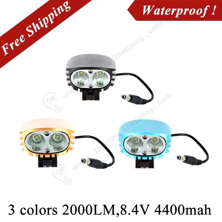 2000Lm, 110/220V, 2 CREE XML-T6, Outdoor 3 colors, 4400mah Battery Pack 4 Modes, LED Bicycle Headlight - See more at: http://www.lightingshopping.com/outdoor-3-colors-2000lm-2-cree-xml-t6-led-bicycle-headlight.htmlBicycle Lighting-H9441-1