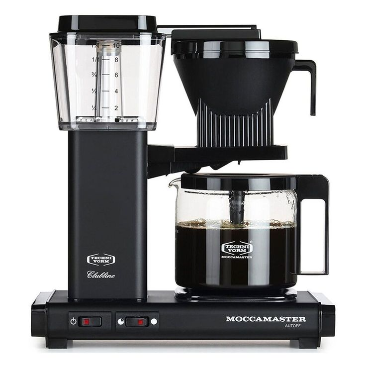 Buy a Technivorm MoccaMaster handmade filter coffee machine for perfectly brewed filter coffee at home
