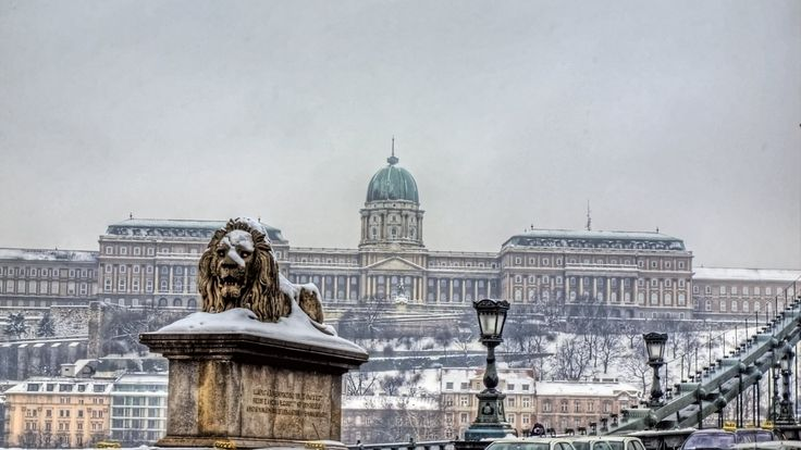 Man Made Buda Castle  Wallpaper