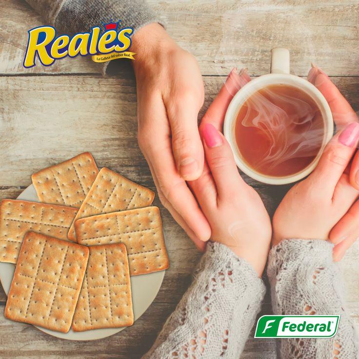Comparte un dulce momento  Con Reales, compartir con aquella persona que amas siempre termina siendo un momento mucho más real.  #GalletasFederal