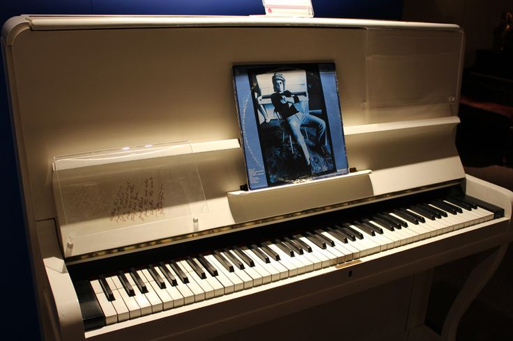 Elton John wrote Your Song- Upright grand Piano  - National Music Centre, Calgary