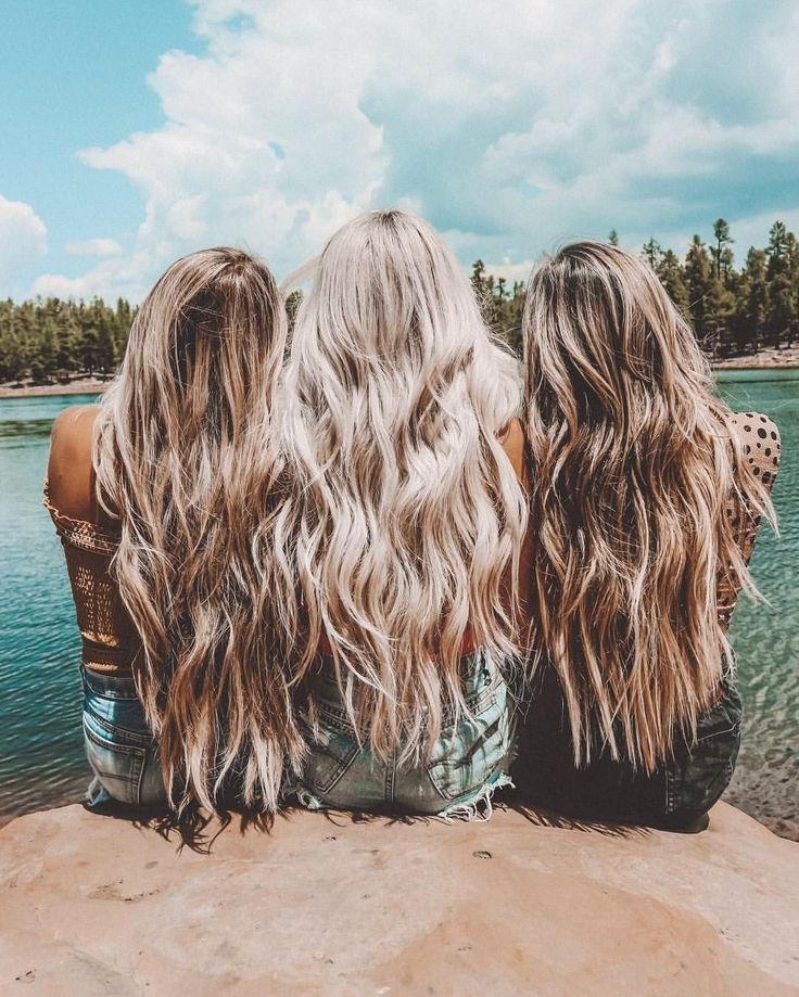 решила картинки подруг для длинных волос гергес это