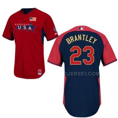 http://www.xjersey.com/usa-23-brantley-red-2014-future-stars-bp-jerseys.html USA 23 BRANTLEY RED 2014 FUTURE STARS BP JERSEYS Only 34.06€ , Free Shipping!