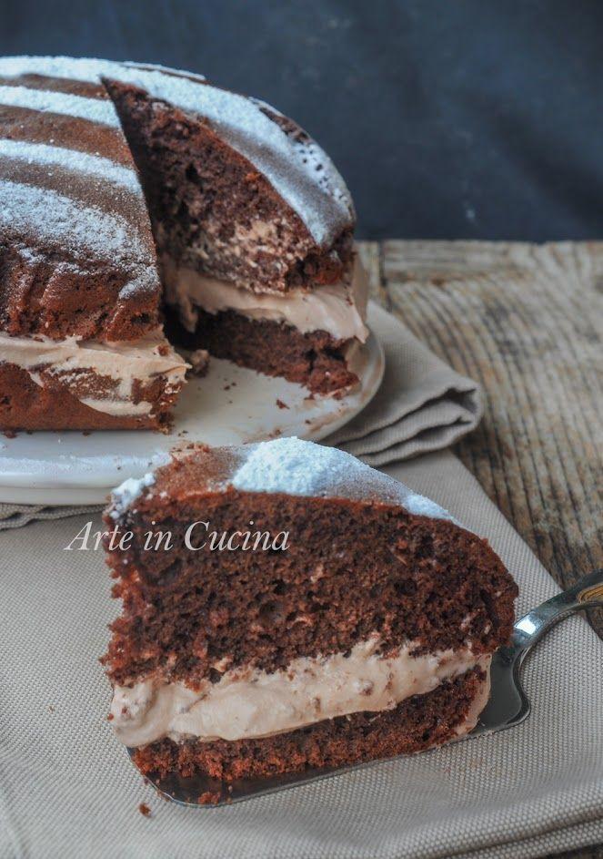 Torta pan di nuvola alla nutella ricetta golosa | Arte in Cucina
