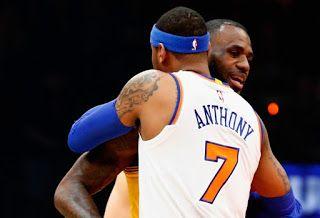 Blog Esportivo do Suíço:  Com triplo-duplo, LeBron supera Carmelo, e Cavs vencem os Knicks