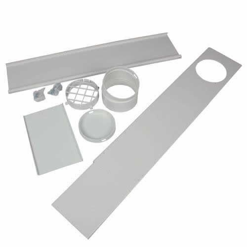 A/C - EdgeStar Upgraded Portable AC Vent Kit for Sliding Glass Doors and Large Windows