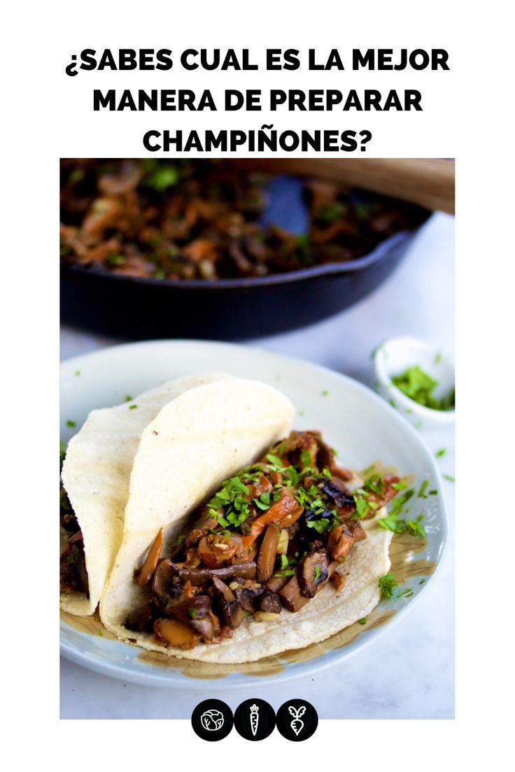 Esta es la mejor manera de preparar champiñones, quedan super ricos y son bien fáciles de hacer. Cómelos en taco, sobre pan o incluso pasta. Tacos, Mexican, Pasta, Beef, Ethnic Recipes, Food, Vanilla, Vegetables, Breakfast
