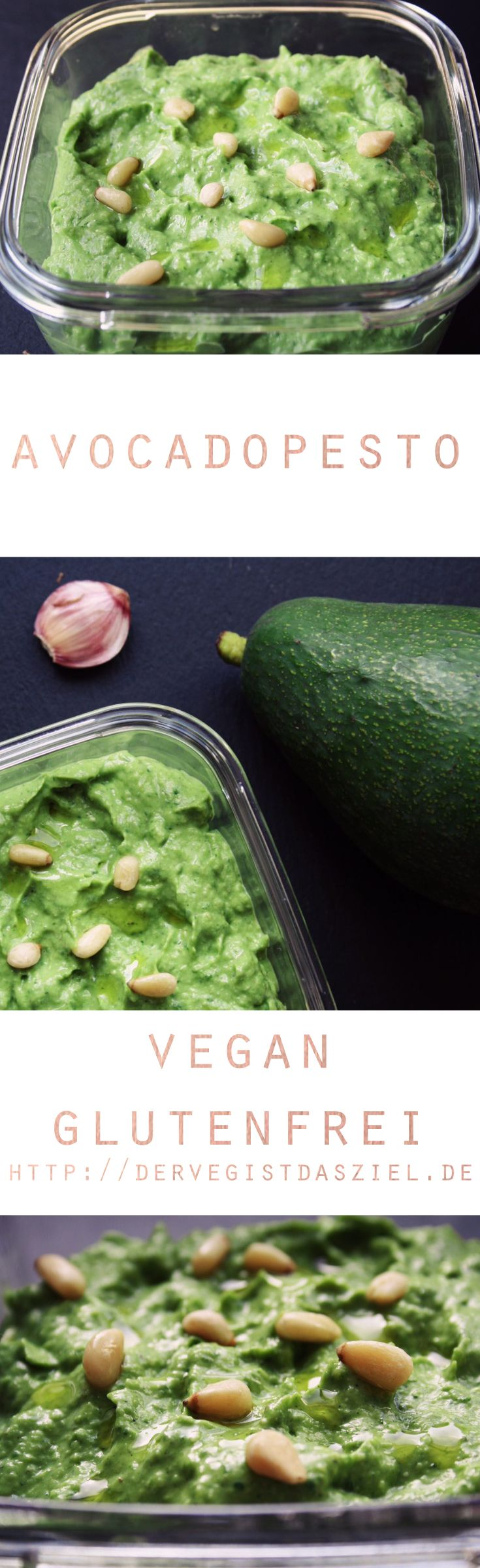 Einfaches und sehr leckeres Avocadopesto