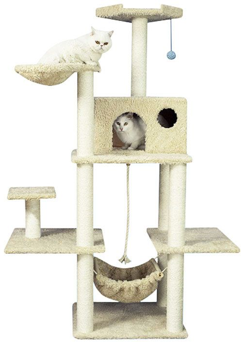 481 best images about cat furniture on pinterest cat for Cat tower with hammock