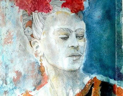 """Check out new work on my @Behance portfolio: """"Frida"""" http://be.net/gallery/40607427/Frida"""