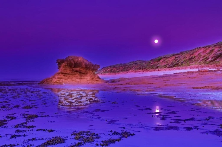 Bellarine Peninsula, Victoria, Australia. Dawn at the Rip.