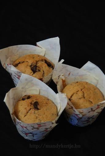 Mandy kertje és konyhája : Narancsos, csokoládés muffin (vegán)