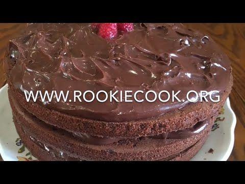 Chocolate and Raspberry Cake - Rookie Cook