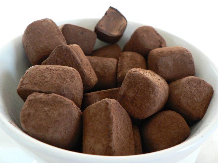 Trufas de chocolate                                                                                                                                                                                 Má