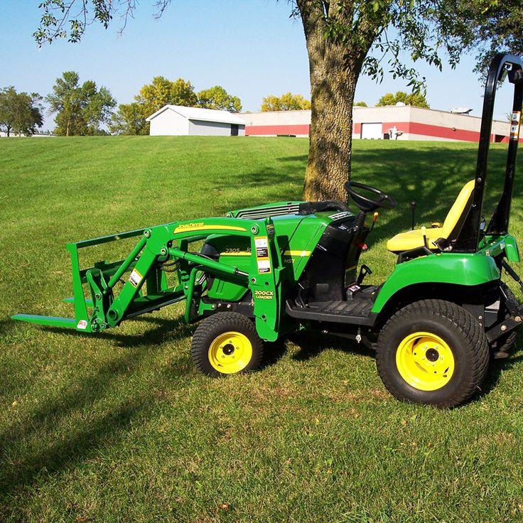 Jd Tractor Forks : Best john deere tractor accessories images on pinterest