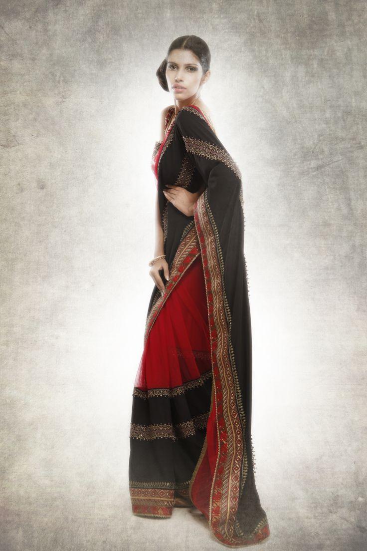 JJ Valaya Classic Sari.