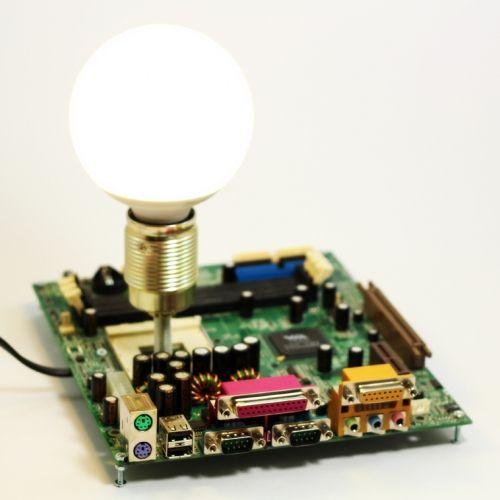 Computer mainboard interior lamp   tablo.ro