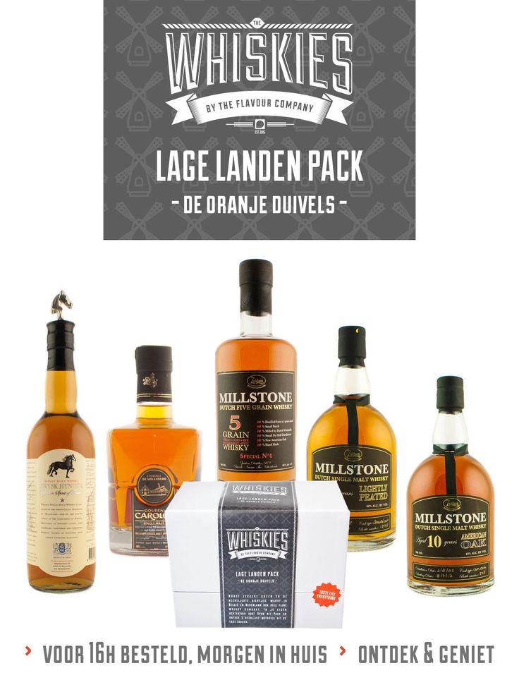 Whisky - Lage landen pack
