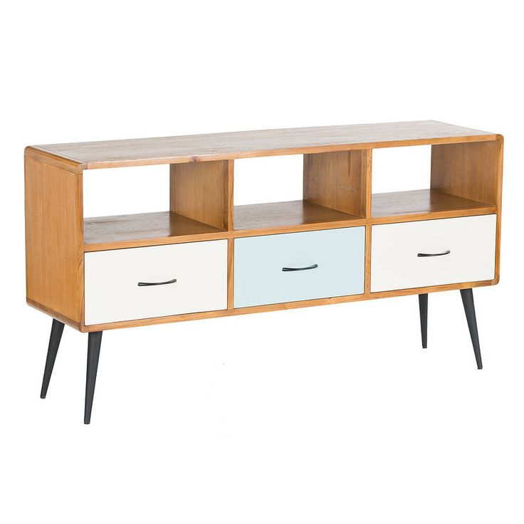 Fifties Style Three Drawer Sideboard By Out There Interiors