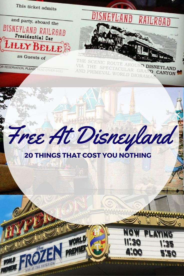 Looking for things that are free at Disneyland? How about 20 of them! Check this… – Nichole Melton