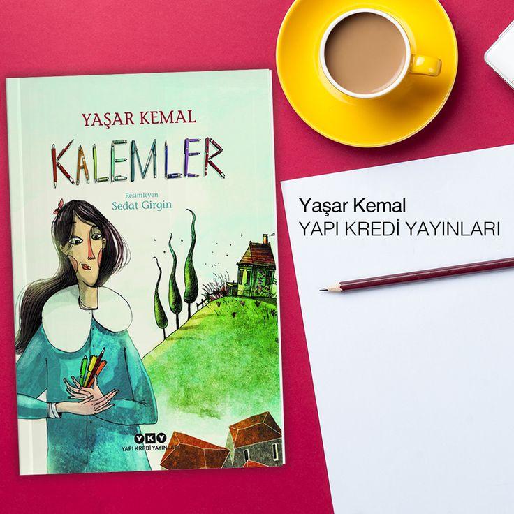 """Türkiye edebiyatının büyük ustası Yaşar Kemal'in yazdığı """"Kalemler"""", dokunaklı ve sarsıcı bir öykü.  Satın al:"""