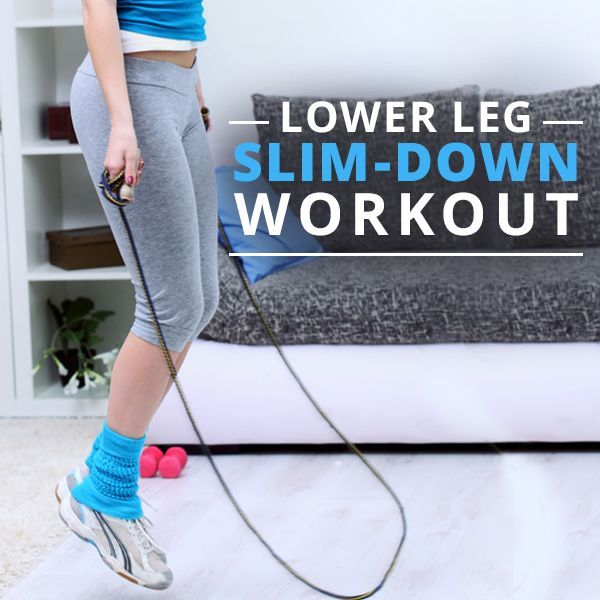 Lower Leg Slim-Down Workout