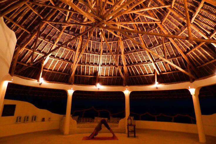 Yoga Room at Night