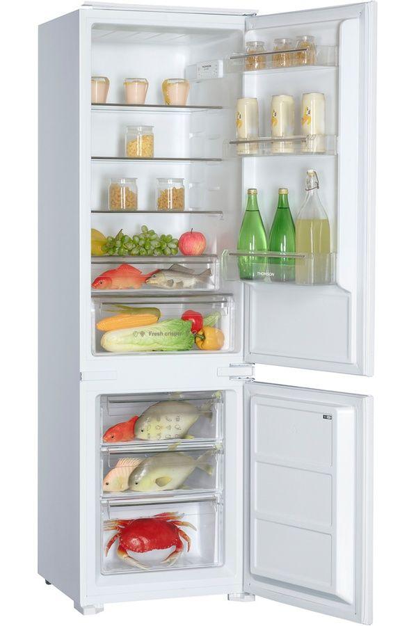 Refrigerateur congelateur encastrable Thomson COMBI TH178 BI A++