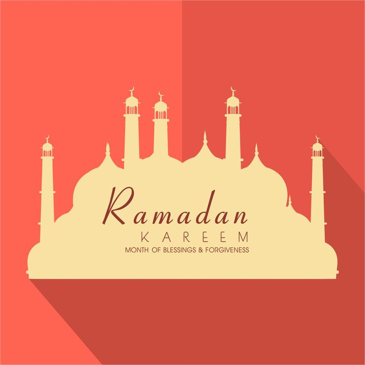 month of blessing ramadan template vector background