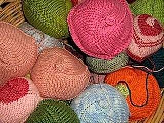 11 best knitted knockers images on pinterest knit crochet knitting for knockers a charity project ccuart Images