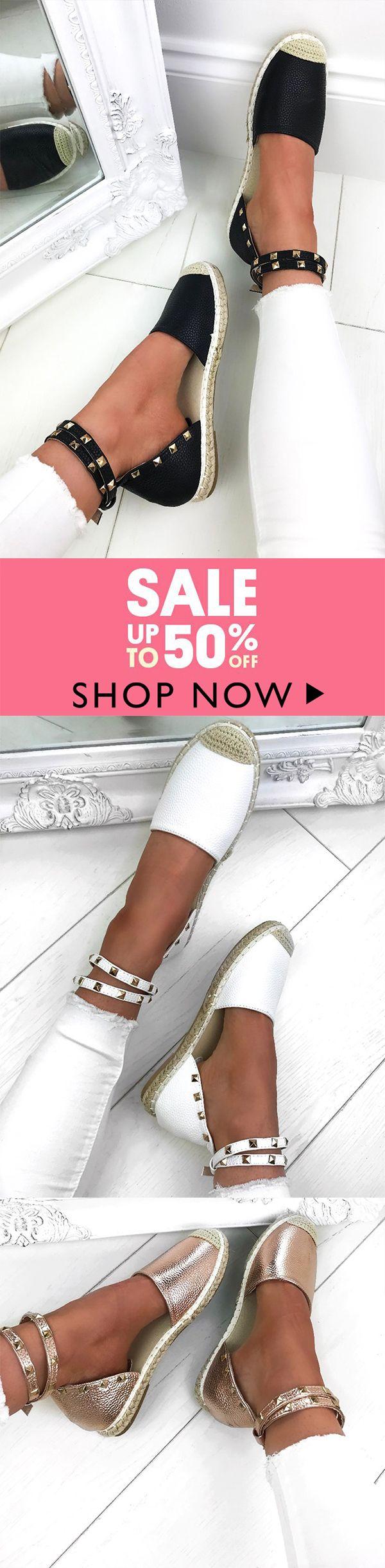 1000+bought !!!  Casual Weaving Adjustable Buckle Flat Sandals – sheinlook