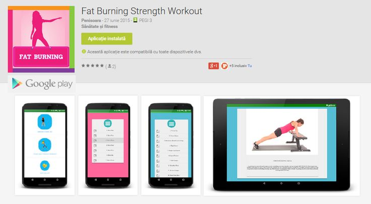 Fat Burning Strength Workout – Android App