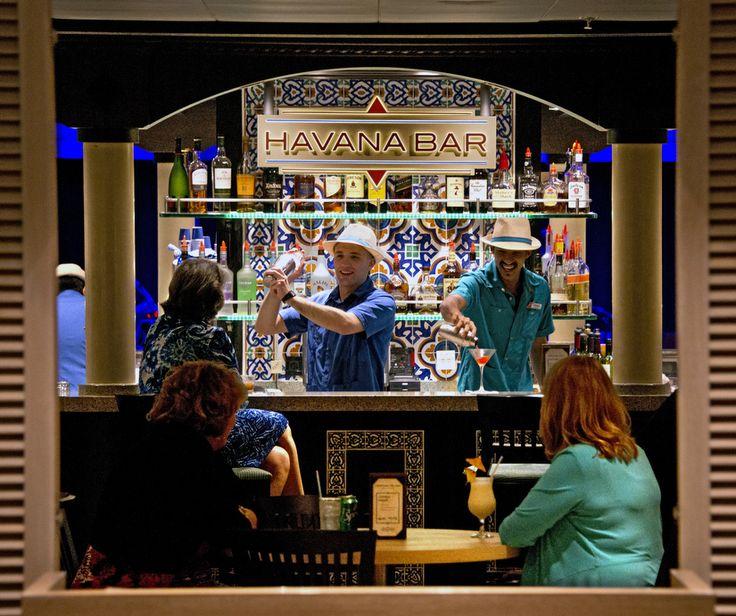 Havana Bar on Carnival Sunshine