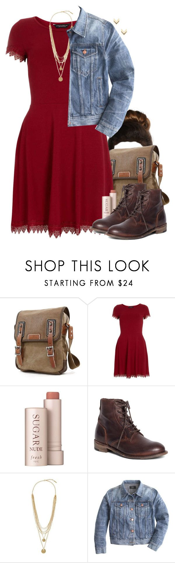 """""""Hermione Granger Inspired House Party Outfit"""" by hpstyle ❤ liked on Polyvore featuring Dorothy Perkins, Fresh, Brooks Brothers, Vince Camuto, J.Crew and Leslie Danzis"""