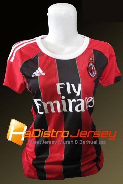 Toko Jersey Bola HADISTROJERSEY menyediakan READY STOK Jersey Grade Ori Jersey Ladies AC Milan Home 2012/2013 $15 http://goo.gl/euQko