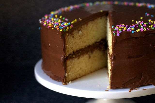 best birthday cake by smitten, via Flickr.  Seriously good eats.  My new go-to recipe for vanilla cake.