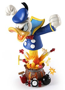Donald Duck - Angry Donald - Bust - Walt Disney Mini Busts - World-Wide-Art.com - $65.00 #Disney #Donald