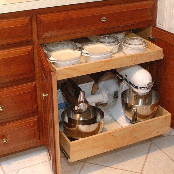 Kitchen Aid Cabinets: 17 Best Ideas About Kitchen Appliance Storage On Pinterest