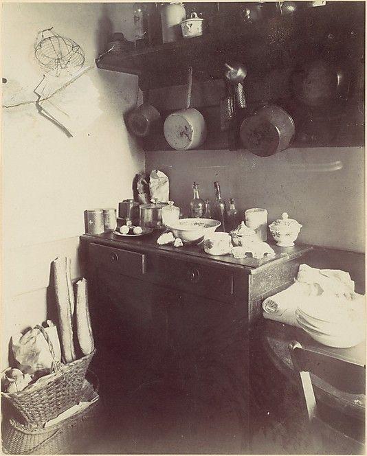 Cuisine. Eugène Atget (French, Libourne 1857–1927 Paris), c. 1910. MET