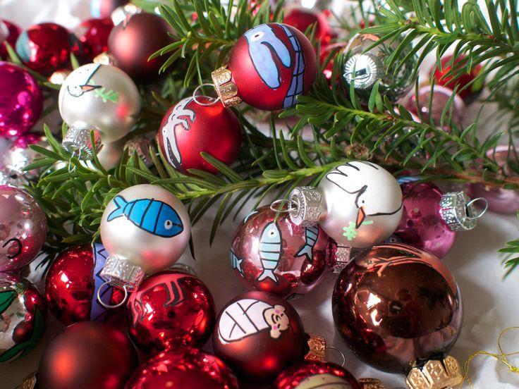 mini kerstballen set