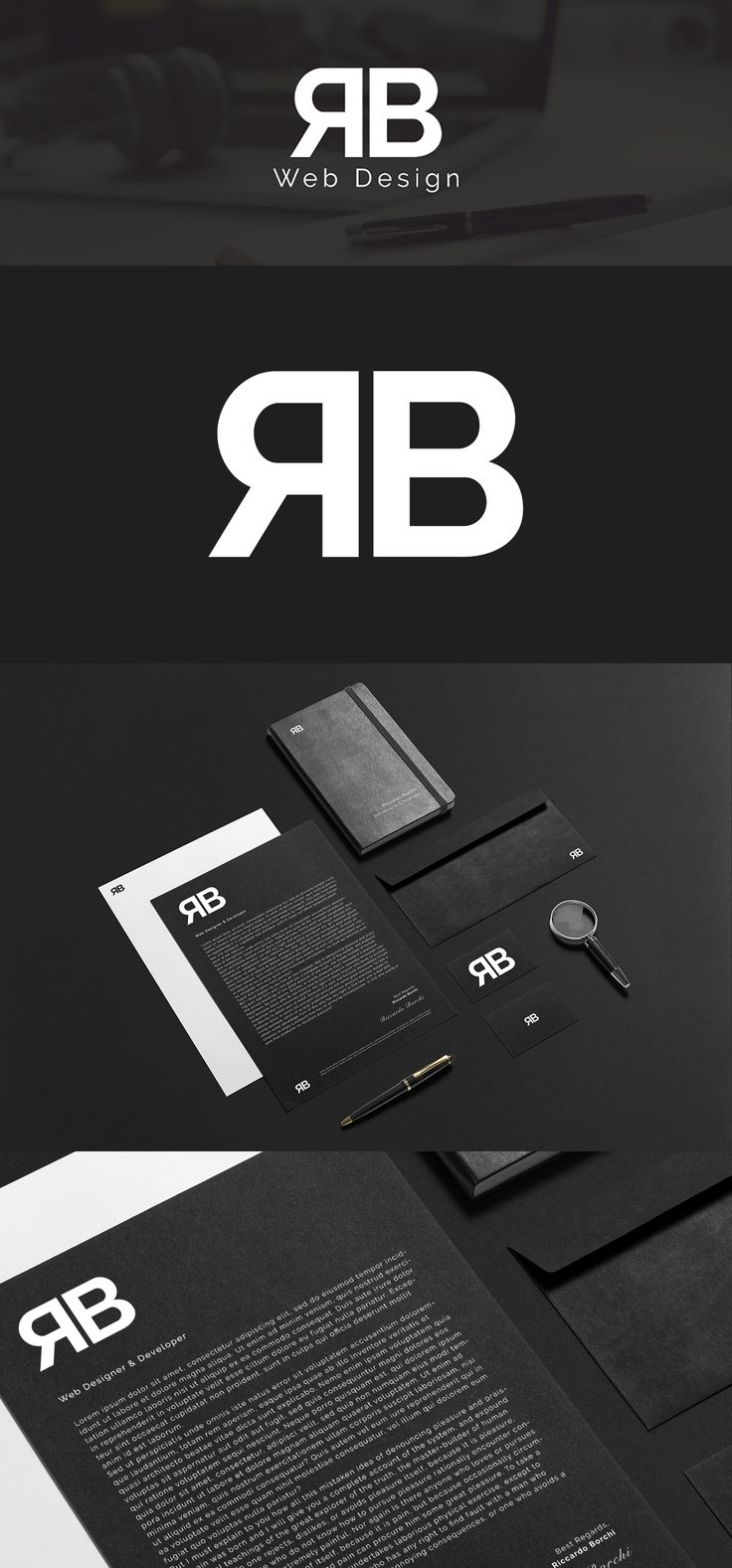 Vedi il mio progetto @Behance: \u201cRB Web Design - Rebrand\u201d https://www.behance.net/gallery/50520529/RB-Web-Design-Rebrand