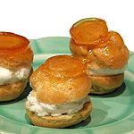 Caramel Topped Cream Puffs Recipe : Food Network - FoodNetwork.com