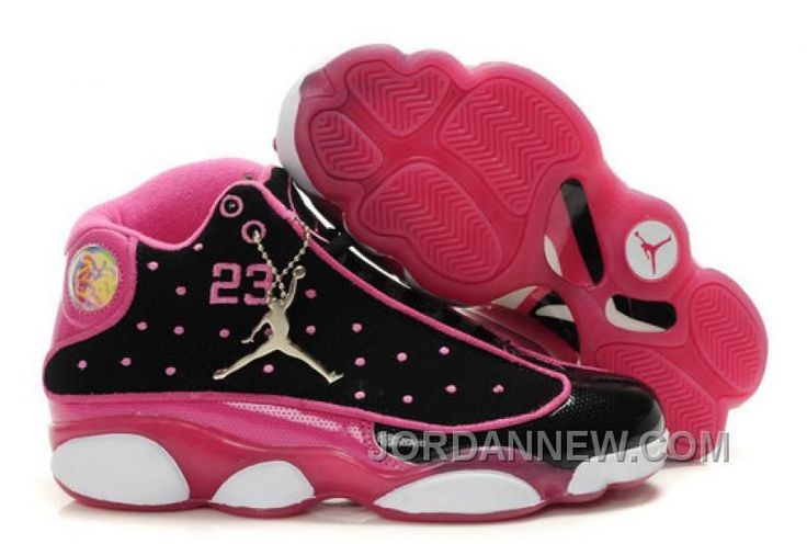 http://www.jordannew.com/womens-nike-air-jordan-13-shoes-black-pink-white-new-style-twwacw.html WOMEN'S NIKE AIR JORDAN 13 SHOES BLACK/PINK/WHITE NEW STYLE TWWACW Only 85.33€ , Free Shipping!