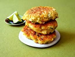 Image result for corn fritters