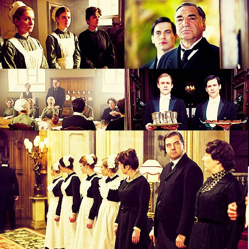 The staff of Downton