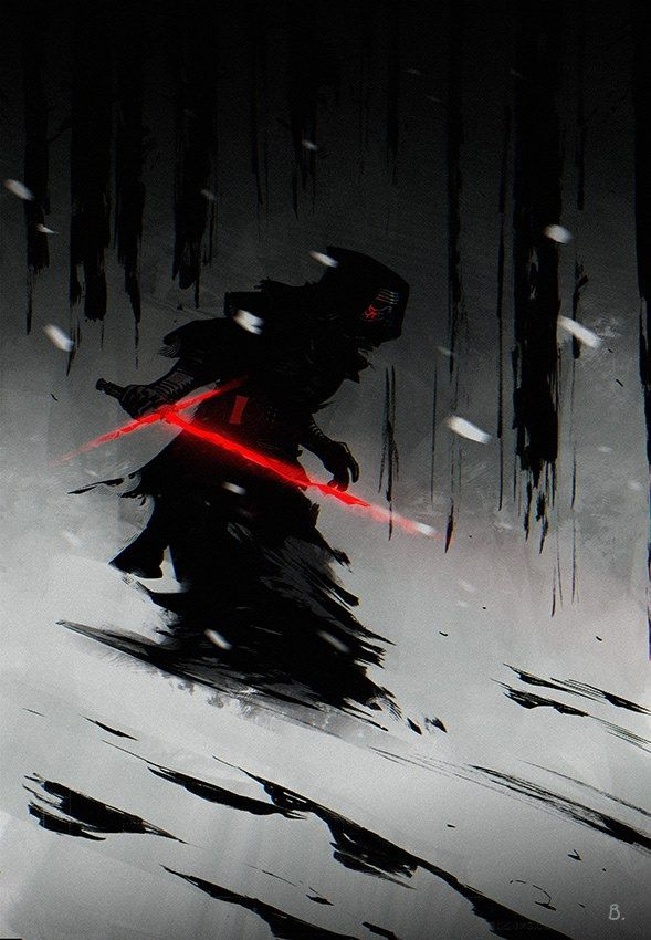 Cartoons And Heroes — xombiedirge:   Kylo Ren by Bengal / Tumblr