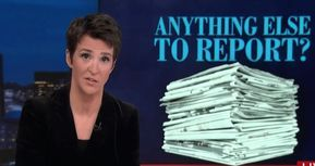 Porn Star Pay-Offs And Insider Trading: Rachel Maddow Shines Spotlight On Trump's Money Crimes