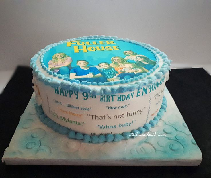 Theme Birthday Cake Dairy Free Chocolate Cake