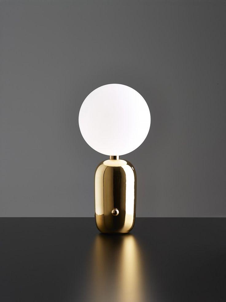 """MILAN DESIGN WEEK 2014: Aballs table lamp by Spanish designer Jaime Hayón for the new Catalan Label Parachilna. """